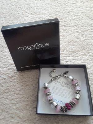 Magnifique Fine Crystal Charm Bracelet for Sale in Henderson, NV