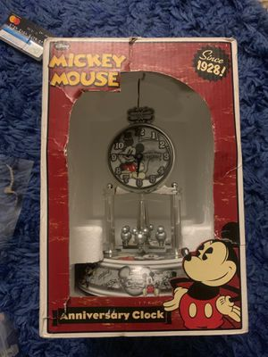 Disney glass dome spinning clock for Sale in Falls Church, VA