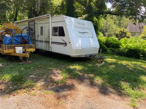 Reginal error light 27 foot fiberglass travel trailer fully self-contained morning air no title you can apply for a lost title and I'm more than sure for Sale in Decatur, GA