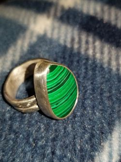 African Malachite Ring for Sale in Oak Lawn,  IL