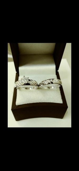 New with tag Solid 925 Sterling Silver ENGAGEMENT WEDDING Ring Set size 6 / 7 or 9 $150 set OR BEST OFFER ** WE SHIP!!📦📫** for Sale in Phoenix, AZ