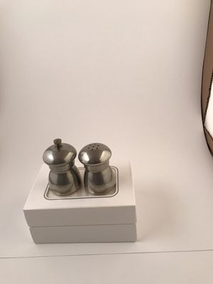 Eals 1779 Italy salt and pepper shaker for Sale for sale  New York, NY