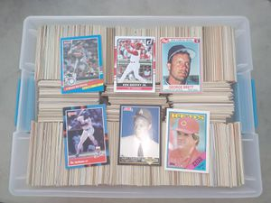 Tub of 1500 plus baseball cards for Sale in LXHTCHEE GRVS, FL