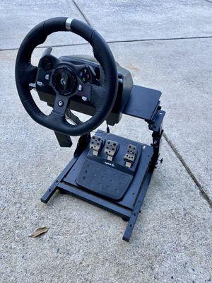 Logitech g920 racing wheel with stand for Sale in Willow Spring, NC
