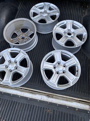 Set of 5 Jeep Wrangler Wheels for Sale in Atlanta, GA