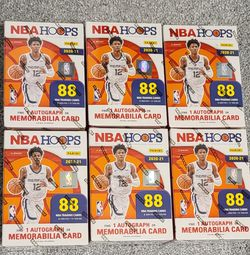 2020/2021 NBA Hoops Blaster Boxes (6) for Sale in Olympia,  WA