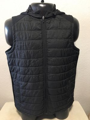 Russell Mens Hooded Vest Black Training Fit Dri-Power 360 Quilted L for Sale in Avondale, AZ