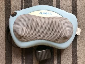 Aurora Health & Beauty Aurora Shiatsu Massager Pillow for Sale in Friendswood, TX