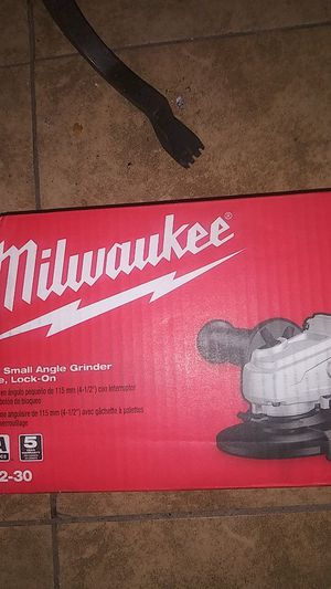 Millwaukee small angle grinder for Sale in Phoenix, AZ