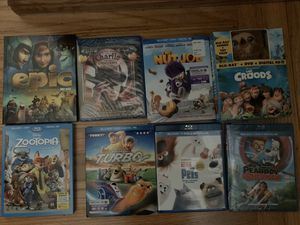 8 children's blu rays for Sale in South San Francisco, CA