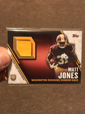 Washington Redskins Matt Jones Rookie Football Card for Sale in Cleveland, OH