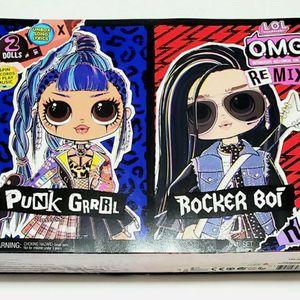 LOL Surprise Doll - OMG Punk Grrrl & Rocker Boi Fashion Dolls for Sale in Dearborn, MI