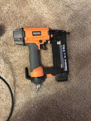 Ridgid nail gun for Sale in Overland Park, KS