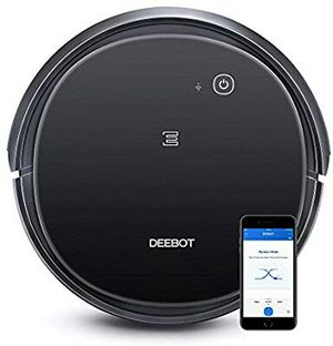 ECOVACS DEEBOT 500 Robotic Vacuum Cleaner with Max Power Suction, Up to 110 min Runtime, Hard Floors & Carpets, App Controls, Self-Charging, Quiet for Sale in Stuart, FL