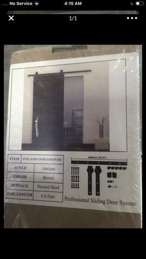 Barn door hardware kit (brand new) for Sale in Mission Viejo, CA