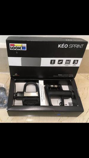 New Look Keo Sprint 8Nm to 12Nm Composite Road Bike Pedals for Sale in Coral Gables, FL