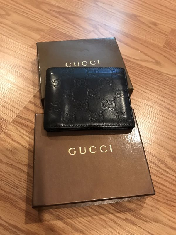 Gucci Black Wallet for Man