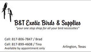 Bird Cages & Supplies for Sale in Arlington, TX