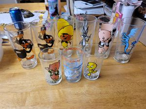 Looney Tune Collector Glasses for Sale in Perris, CA