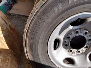 Tires and rims for Chevrolet 2500 HD 8 lugs for Sale in Chula Vista, CA