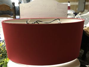 Two Light Red Chandelier for Sale in Waldorf, MD