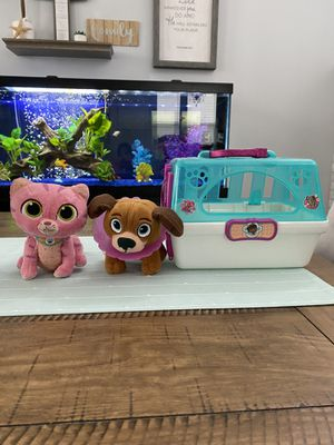 Doc McStuffins Stuffed Animals and Pet Carrier 🐶 🐱 for Sale in Mission Viejo, CA