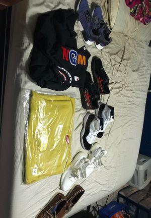 Supreme bape yeezy sperry adidas Jordan Nike for Sale in North Smithfield, RI