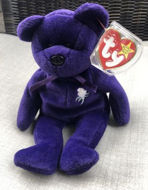 Princess Diana Beanie Baby 1st Generation. AUTHENTIC RARE New Condition. for Sale in Sewickley, PA