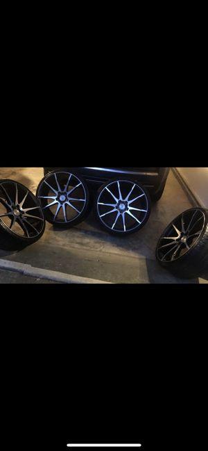 "Black Savini 22"" rims for Sale in Duluth, GA"