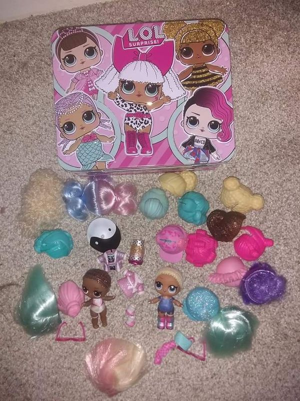 Lol Dolls with Accessories