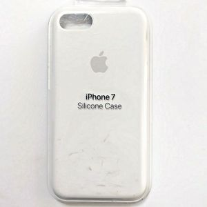 Apple Silicone Case iPhone 7 (White) for Sale in San Diego, CA