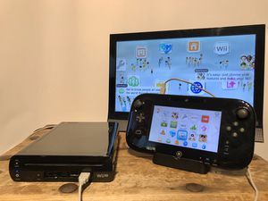 Nintendo Wii U Complete Console, Cleaned, Tested and Works Great 🎮❄️🕹 READY TO PLAY for Sale in Pleasant Hill, CA