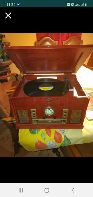 Vintage record player for Sale in Houston, TX