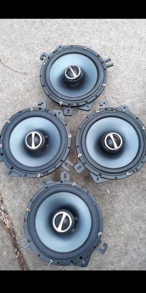 SET OF 6.5 ALPINE SPEAKERS PRICE FIRM NOTRADES for Sale in Littleton, CO