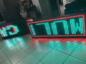 2 LED signs for Sale in East Los Angeles, CA