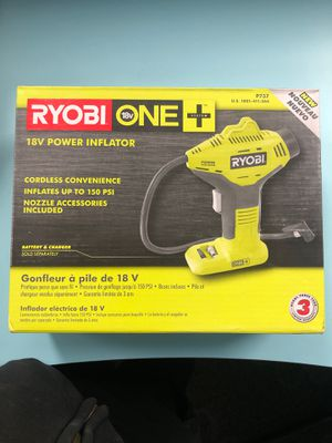 Ryobi Tire inflator for Sale in Lansing, IL