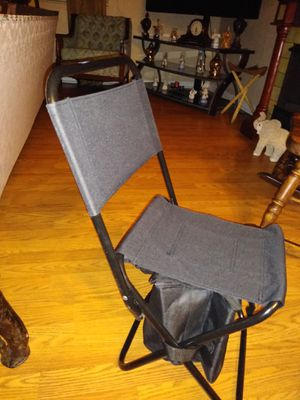 Folding cooler chair for Sale in Tampa, FL