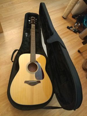 Yamaha FG700S acoustic guitar with polyfoam case for Sale for sale  North Brunswick Township, NJ
