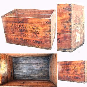 Larkin Soap co wooden crate 1880's for Sale in Brooklyn, NY