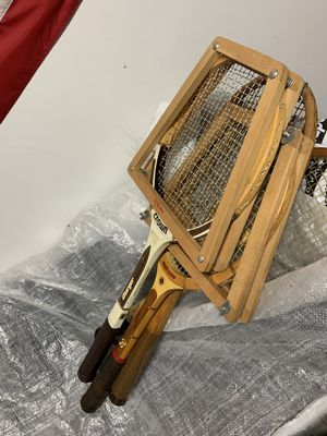 Vintage tennis rackets for Sale in Houston, TX