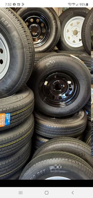 NEW TRAILER AND CAMPER TIRES AND WHEELS STARTING AT $60+ TAX AND UP for Sale in Douglasville, GA