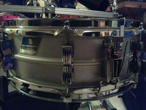"""Ludwig Acralite aluminum 14""""x5"""" snare drum Vintage for Sale in Clinton, MD"""