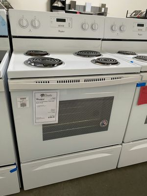 "New Whirlpool 30"" Electric Range On Sale 1yr Factory Warranty for Sale in Chandler, AZ"