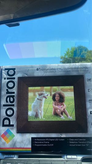 """8"""" digital picture frame by Polaroid for Sale in Fremont, CA"""