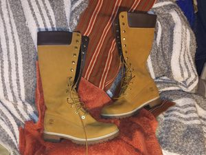 Timberland boots (F) Sz10 Like New for Sale in Norfolk, VA