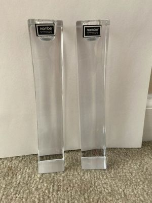 Crystal candle holders for Sale in Hayward, CA