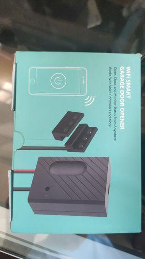 Smart Wi-Fi Garage Door Opener, Wireless Remote Smartphone APP Control, Compatible with Alexa, Google Assistant and IFTTT, No Hub Needed,Sensor for Sale in Norco, CA