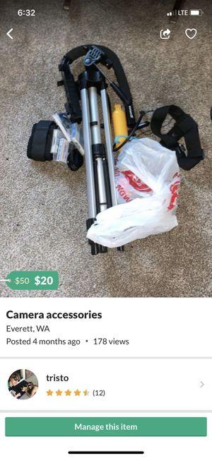 Camera accessories for Sale in Everett, WA