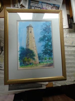 Lighthouse print for Sale in Newark, MD