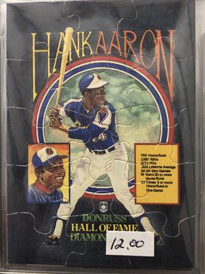 Hank Aaron Baseball Card for Sale in Austin, TX